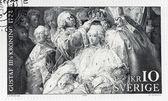 Coronation of Gustav III — Stock Photo