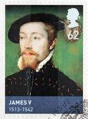 King James V — Stock Photo