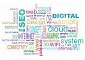 Web design poster — Stock Photo
