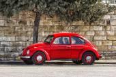 German motor car Volkswagen Beetle — Stock Photo