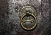 Ancient door handle — Stock Photo