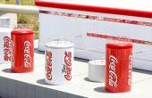 Mini Israel, Israel - April 15, 2015: Miniature  Coca Cola Factory in Mini Israel on April 15, 2015 — Stock Photo
