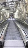 Escalator in the city — Stock Photo