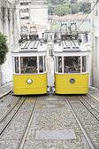 Old Lisbon tram — Stockfoto