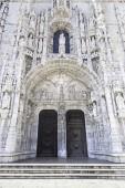 Фасад Jeronimos в Лиссабоне — Стоковое фото