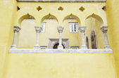 Yellow Castle in Sintra — Stock Photo