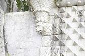 старая каменная горгулья в португалии — Стоковое фото