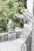 Old stone gargoyle in Portugal — Stockfoto