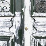 Old dirty wooden door — Stock Photo #62565541