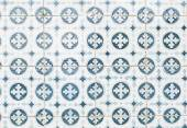 Typical old Lisbon tiles — Stock Photo