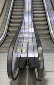 Mechanical stairs indoor — Stockfoto