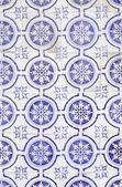 Typical old Lisbon tiles — Foto de Stock