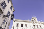 View of the Rossio station in Lisbon — Foto de Stock