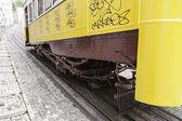 Antiguo tranvía de lisboa — Foto de Stock
