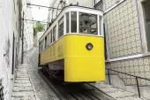 Old Lisbon tram — Stock Photo