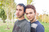 Gay couple — Stock Photo