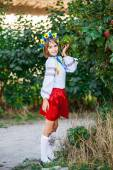 Oekraïense meisje — Stockfoto