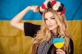 Mulher ucraniana — Foto Stock