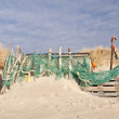 Beach Hut made of Flotsam — Stock Photo #61986255