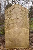 Historic Sailor Tombstones on Amrum — Stock Photo