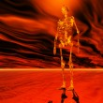 Digital Illustration of a Skeleton — Stock Photo #67647769