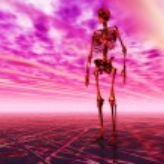 Digital Illustration of a Skeleton — Stock Photo #67647805