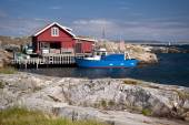 Skerry Island Kaeringoen in Sweden — Stock Photo