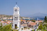 Orthodox Church on Samos in Greece — Stock Photo
