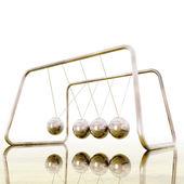 Digital Illustration of a Newton Pendulum — Stock Photo
