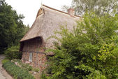 Thatched Roof House in Germany — Stock Photo