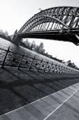 Harbour Bridge at sundown — Stock Photo