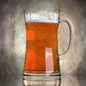 Bier im Glas — Stockfoto