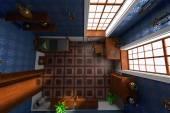 Luxury manor interior — Stock Photo