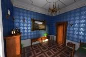 Manor interior — Stock Photo