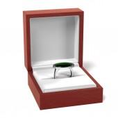 Ring in box — Stock Photo