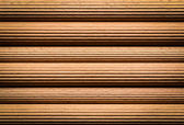 Knurled wooden sticks — Stock Photo