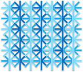 Abstract snowflake pattern — Stock Photo