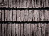 Detail of an old wooden wall — Stock Photo