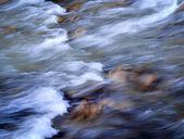 Autumn rapid river — Stock Photo