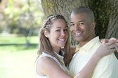 Interacial Couple — Stock Photo
