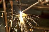 Hand Forging Steal — Stock Photo