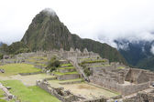 Вид из Мачу-Пикчу — Стоковое фото