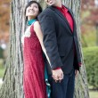 Young Happy Indian Couple — Stock Photo #71207345
