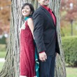 Young Happy Indian Couple — Stock Photo #80903830