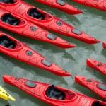 Colourful Kayaks — Stock Photo #70075997