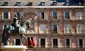 Plaza mayor, madrid, Spanien — Stockfoto