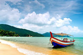 Beach Scene in Penang, Malaysia — Stock Photo