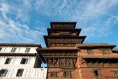Die Kathmandu Durbar Square, Nepal — Stockfoto