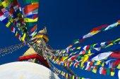 Boudhanath Stupa, Kathmandu, Nepal — Stock Photo