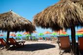 Puerto Vallarta Beach Umbrellas — Stock Photo
